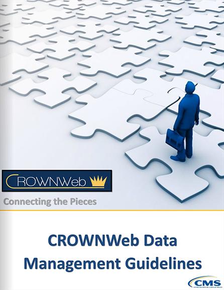 CROWNWeb Data Management Guidelines