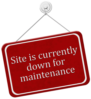 Site Down Sign