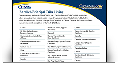 Enrolled/Principal Tribe Listing