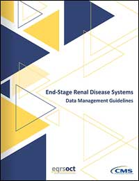 ESRD Systems Data Management Guidelines